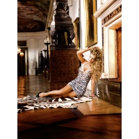 Baci Lace halter dress