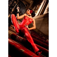 Baci rød blonde bodystocking