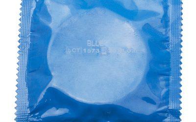 AMOR kondom Blå – 1 stk.
