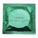 AMOR kondom Lemon smag – 1 stk.