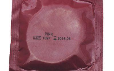 AMOR kondom Pink – 1 stk.