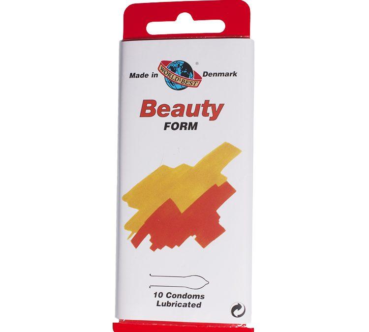 WORLDS BEST kondomer Beauty-Form – 10 stk.