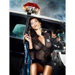 Baci Lingerie Undercover politi kvinde sæt i 5 dele str. S/M